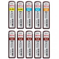 """Rotring """"Tikky"""" wkłady grafitowe do ołówków automatycznych"""