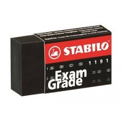 "Stabilo ""Exam Grade"" gumka czarna"