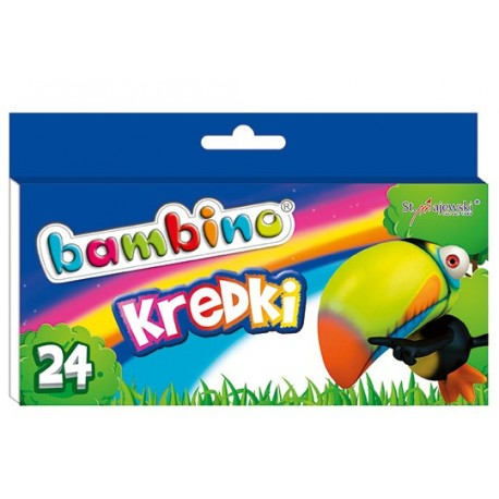 Bambino kredki woskowe 24