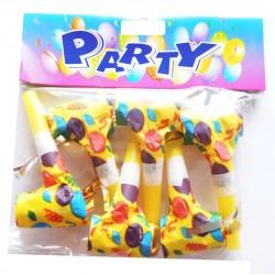 Party zestaw trąbek imprezowych 6