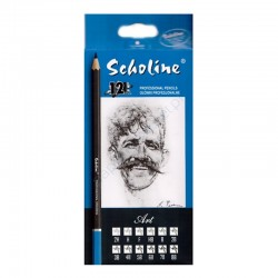"""Titanum """"Scholine"""" zestaw ołówków profesjonalnych"""