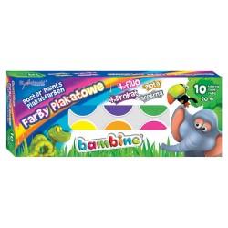 Bambino farby plakatowe mix 10/20 ml