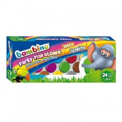 Bambino farby plakatowe 24/10 ml