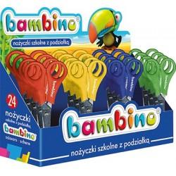 Bambino nożyczki szkolne z podziałką