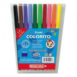 "Fibracolor ""Colorito"" flamastry szkolne 10"