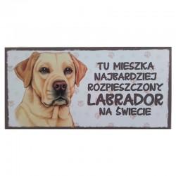 "Tabliczka z Twoim Pupilem ""Labrador"""