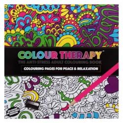 """Kolorowanka dla wszystkich """"Colour Therapy"""" 60 ilustracji"""