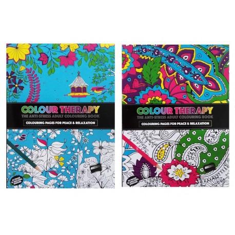 """Kolorowanka dla wszystkich """"Colour Therapy"""" 32 ilustracje"""
