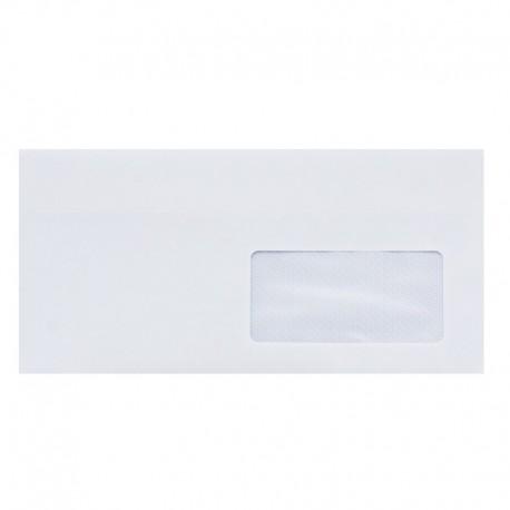 Koperta DL biała z okienkiem